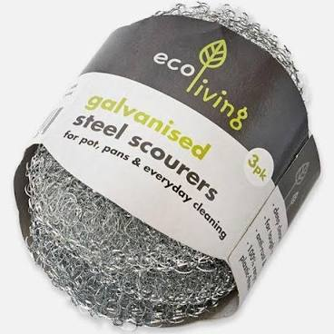 Steel Scourer - pack of 3