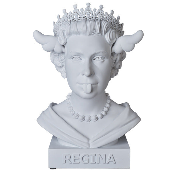 MEDICOM TOY Sync. D*FACE Dog Save The Queen Statue