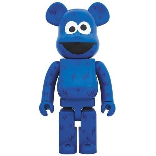BE@RBRICK COOKIE MONSTER 1000% - BOROPBY