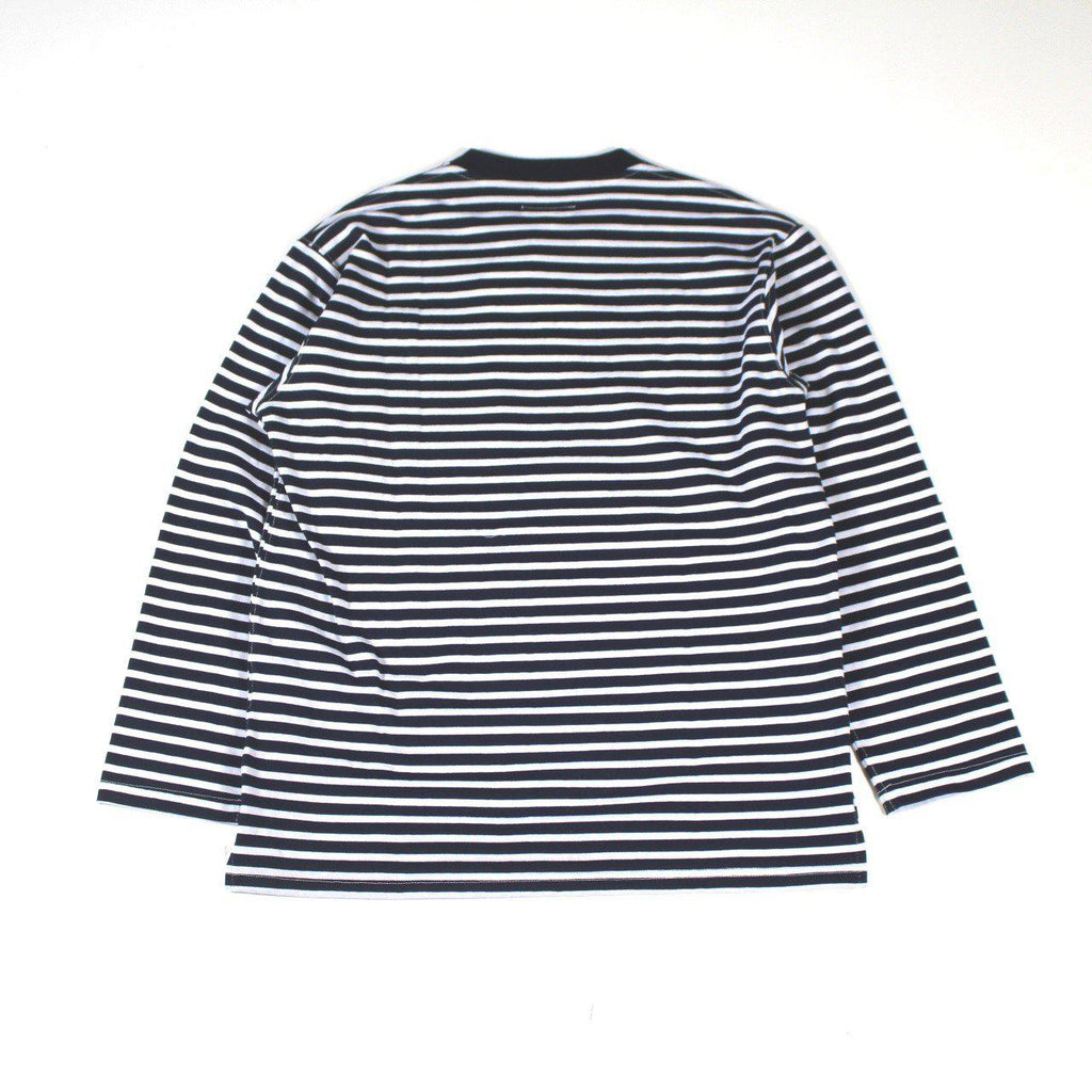 ENGINEERED GARMENTS Long Sleeve Crew - St. Jersey - BOROPBY