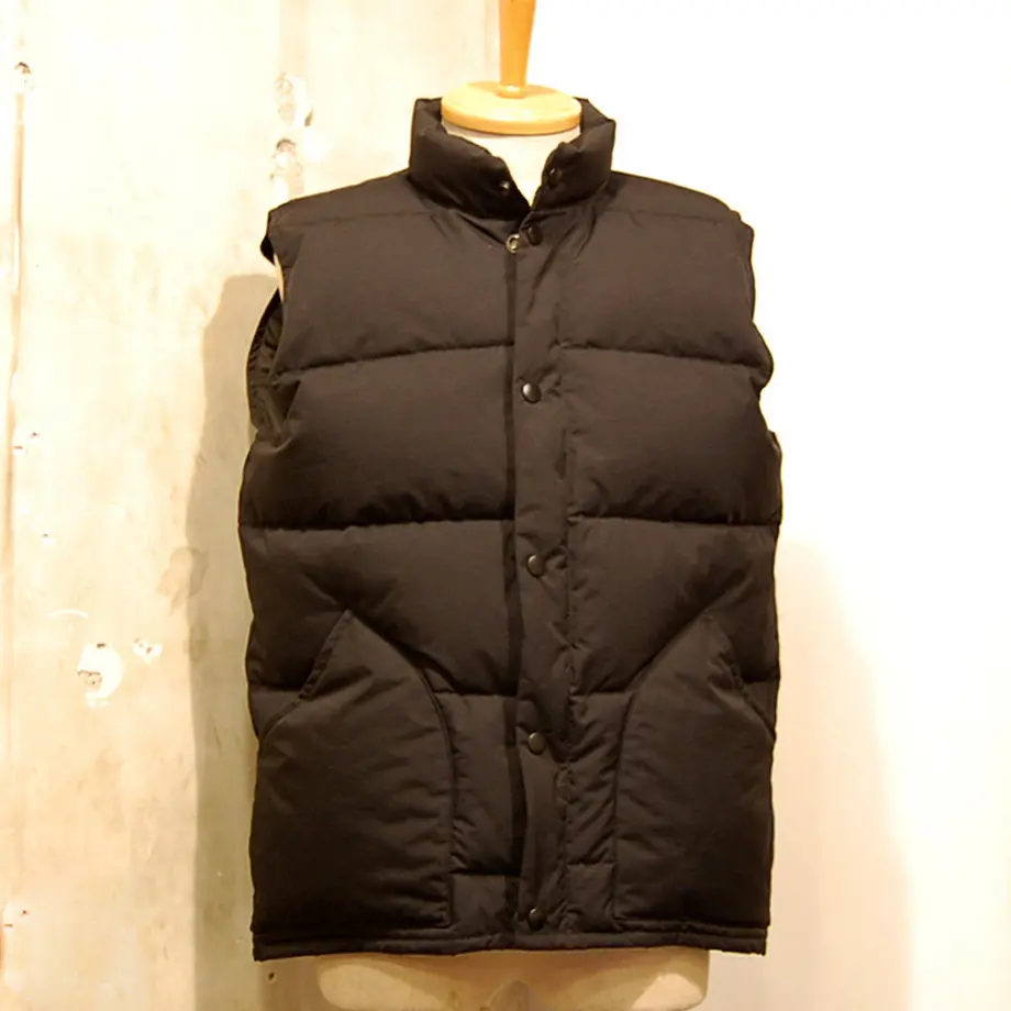 ZANTER JAPAN Down Vest