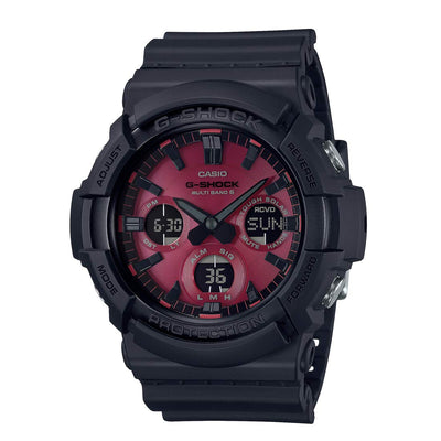 CASIO G-SHOCK Black and Red Series GAW-100AR-1AJF