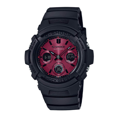 CASIO G-SHOCK Black and Red Series AWG-M100SAR-1AJF