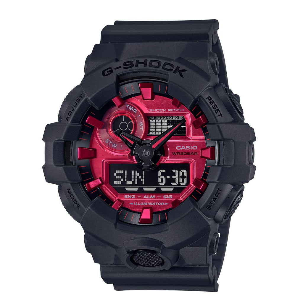 CASIO G-SHOCK Black and Red Series GA-700AR-1AJF - BOROPBY