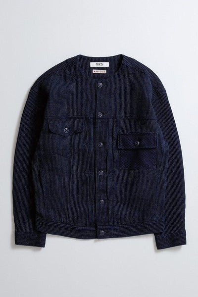 FDMTL OVERSIZED JACKET INDIGO BLUE