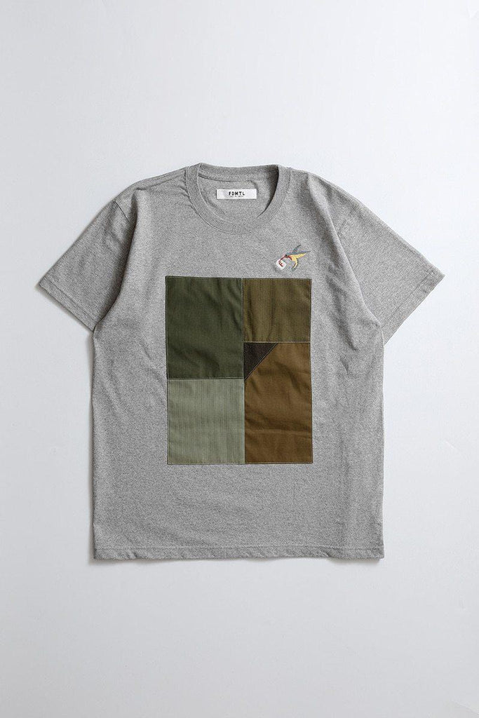 FDMTL PATCHWORK TEE 2colors - BOROPBY