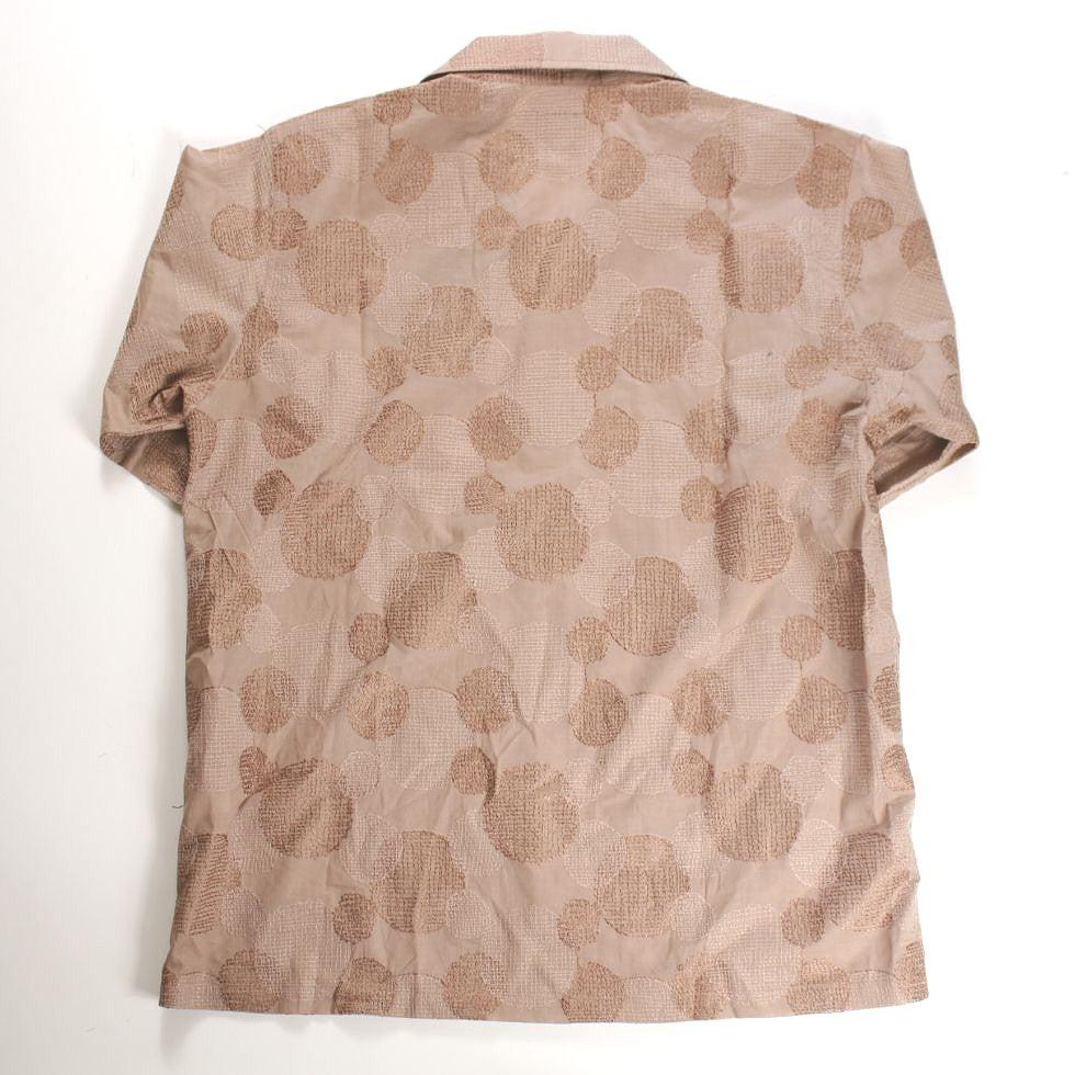 NEEDLES Cabana Shirt - Cotton Cloth / Polka Dot Emb. - BOROPBY