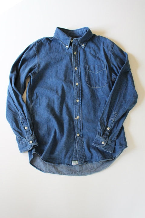 orSlow Button Down Shirts Denim Used - BOROPBY