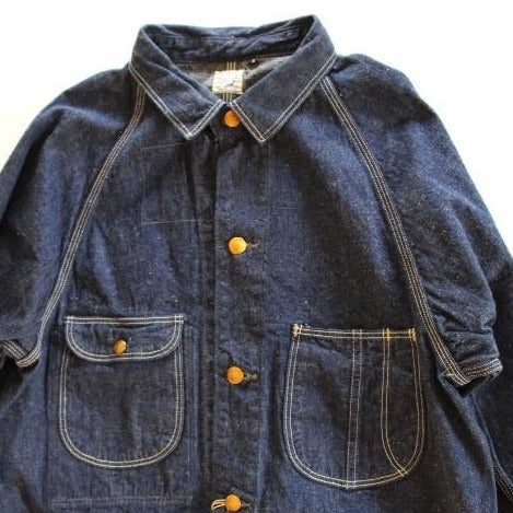 orSlow 50'S COVERALL One Wash - BOROPBY