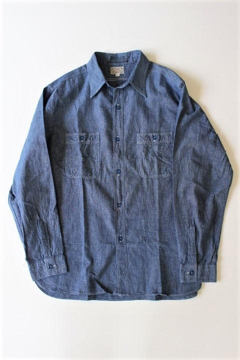 Buzz Rickson's CHAMBRAY WORK SHIRT 2 Colors - BOROPBY