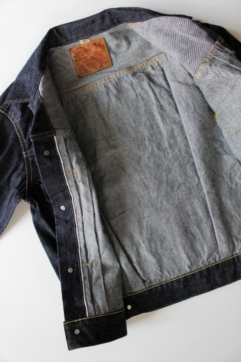 SUGAR CANE 14.25oz. DENIM JACKET 1953 MODEL.