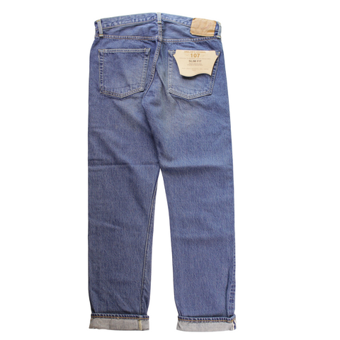 orSlow IVY FIT DENIM 107 2year Wash