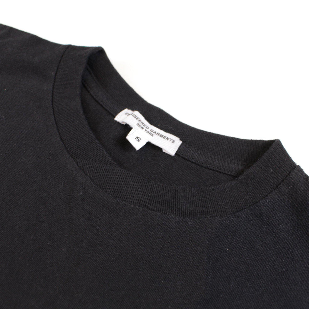 ENGINEERED GARMENTS Printed Cross Crew Neck T-shirt - Music - BOROPBY