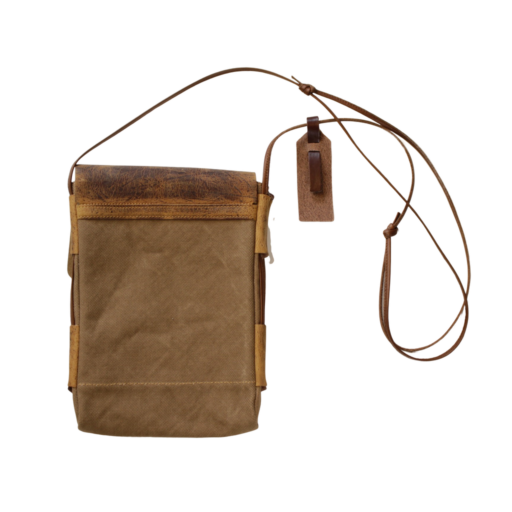 ANCHOR BRIDGE Shoulder Pouch Kudu / Fabric - BOROPBY
