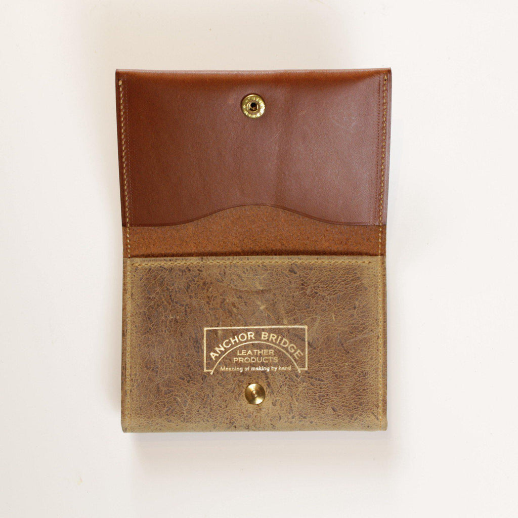 ANCHOR BRIDGE Card Case Kudu - BOROPBY