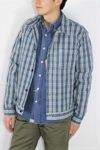 SUN SURF 10.25oz PALAKA CHECK WORK BLOUSE