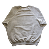orSlow Crew Neck Sweat Shirt Heather Gray - BOROPBY
