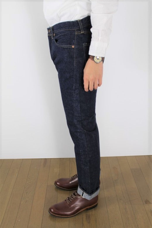 orSlow IVY FIT DENIM 107 One Wash - BOROPBY