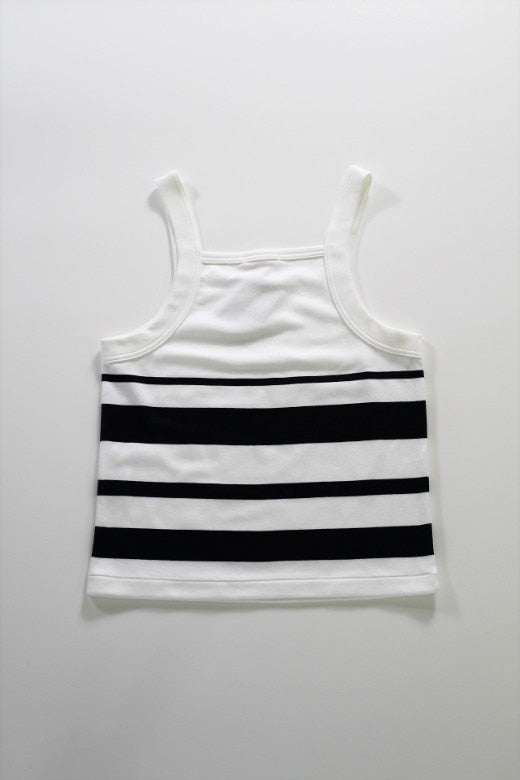 HAVERSACK Panel Border Tanktop - BOROPBY