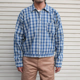 UNION SUPPLY Palaka Check Shirts Blouse - BOROPBY