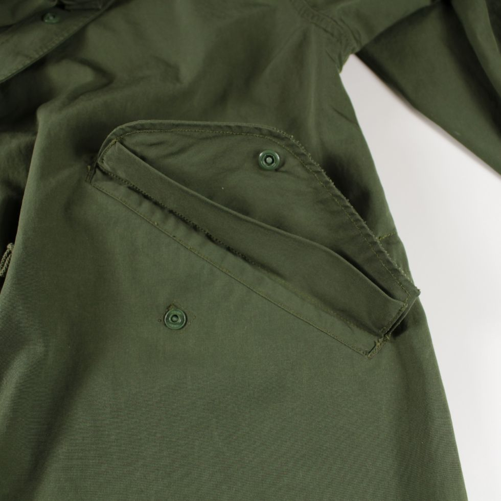 SUGAR CANE T/C Weather Cloth Water Repellent Parka - BOROPBY