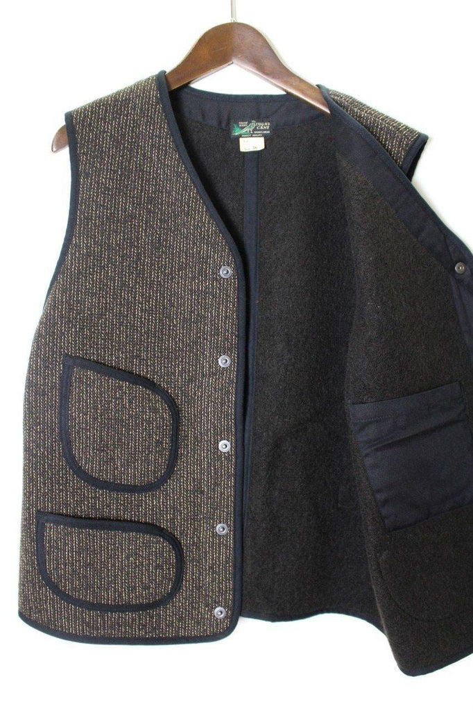 SUGAR CANE BEACH CLOTH VEST - BOROPBY
