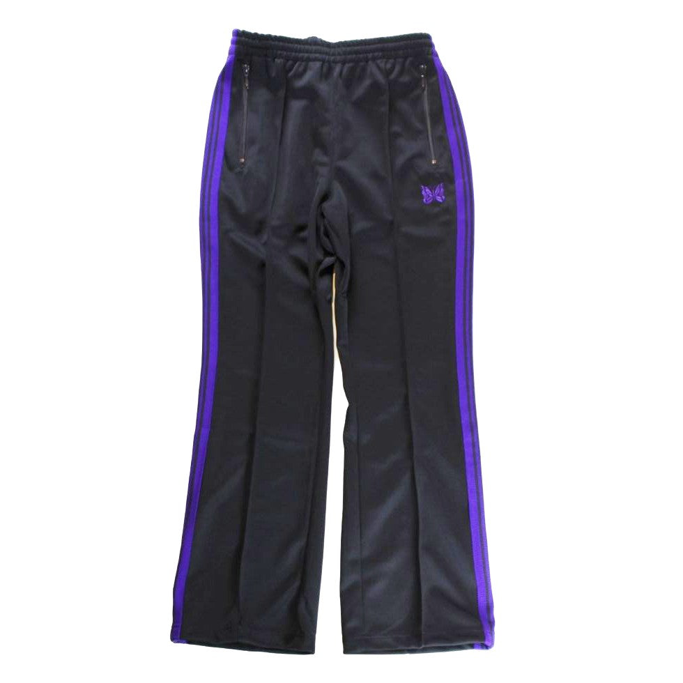 NEEDLES Boot-Cut Track Pant - Poly Smooth - BOROPBY