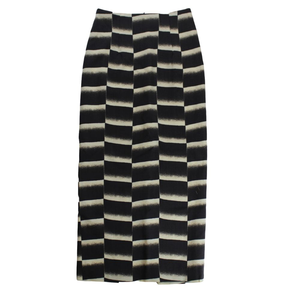 NEEDLES Pencil Skirt - Wool Gabardine / Pt. - BOROPBY