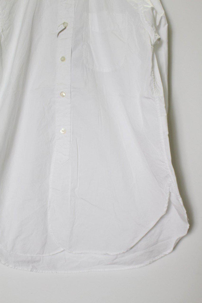 ENGINEERED GARMENTS 19th BD Shirt-100's Broadcloth White - BOROPBY