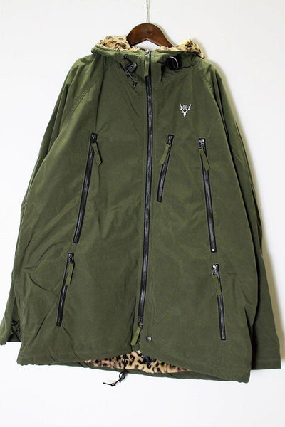 SOUTH2 WEST8 Zipped Coat - Wax Coating
