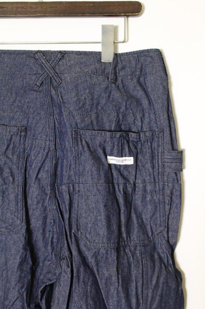 ENGINEERED GARMENTS PAINTER PANT/Solid - 8oz Denim - BOROPBY