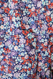 ENGINEERED GARMENTS SHORT COLLAR SHIRT - FLORAL LAWN - BOROPBY