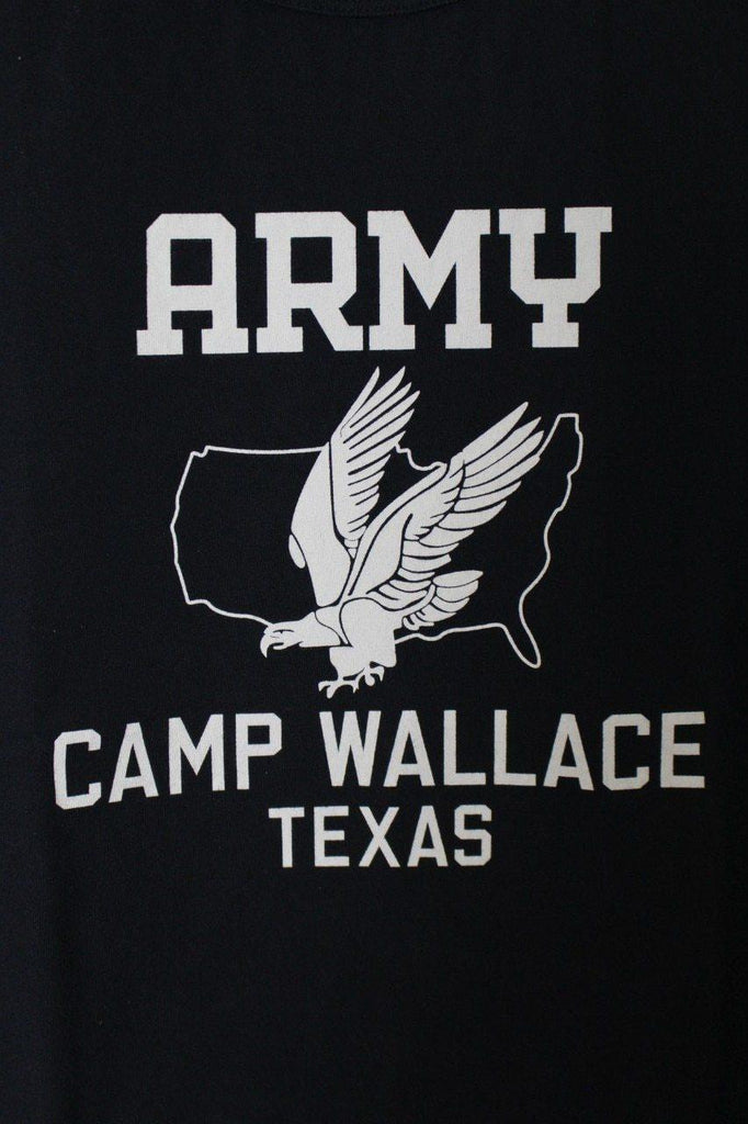 BUZZ RICKSONS ARMY CAMP WALLACE T SHIRT - BOROPBY