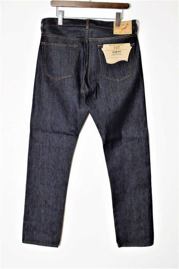 orSlow IVY FIT DENIM 107 RIGID - BOROPBY