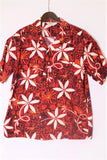 "STAR OF HOLLYWOOD BROAD COTTON S/S OPEN SHIRT ""BLUE HAWAII"" - BOROPBY"