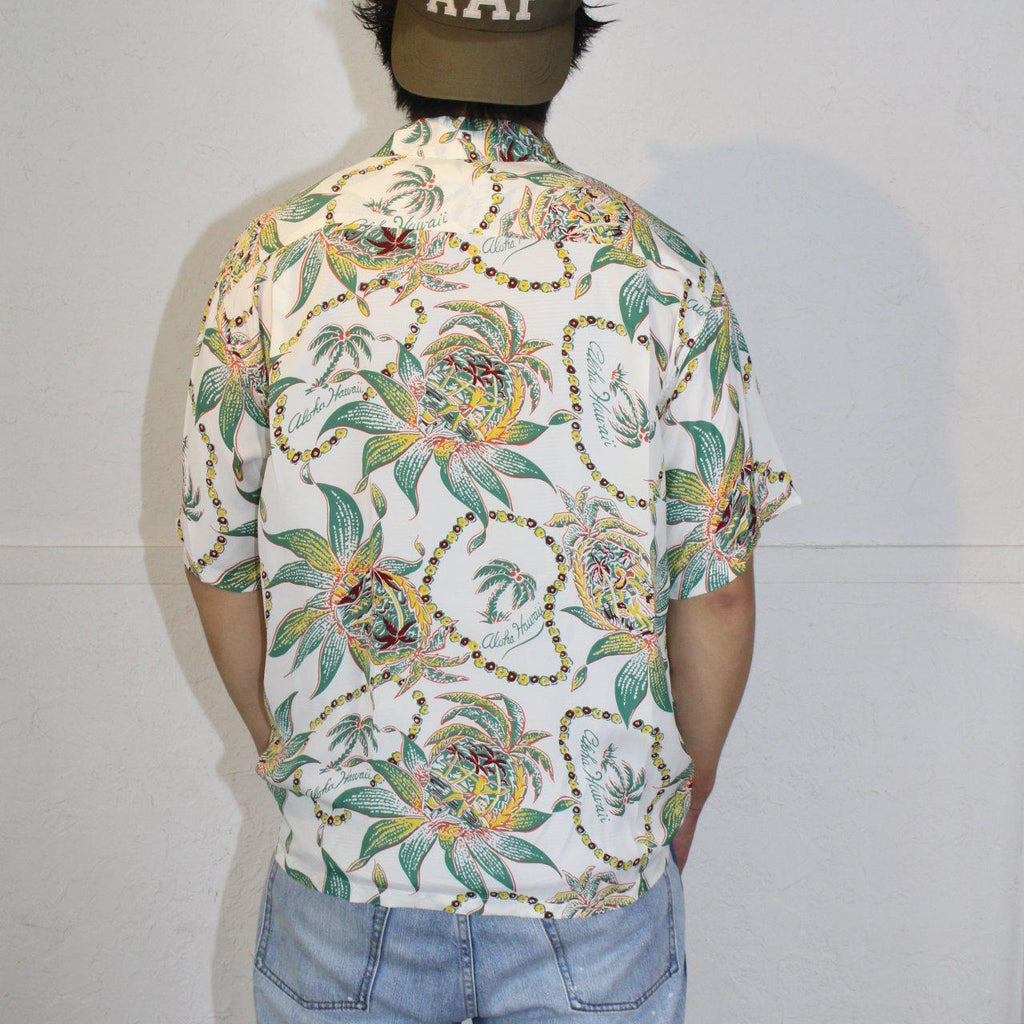 SUN SURF DREAMS AND PINEAPPLE HAWAIIAN SHIRT - BOROPBY