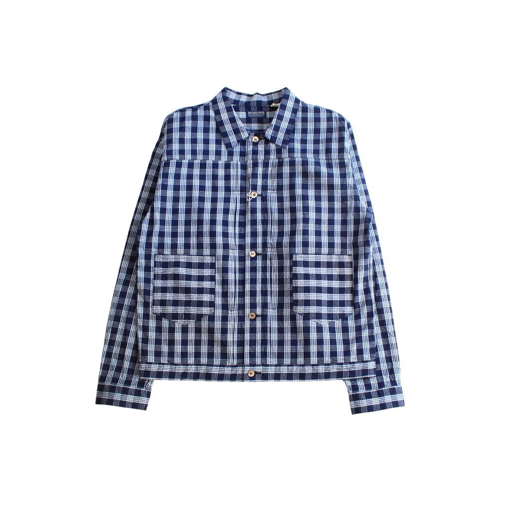 MUSASHIYA Palaka Check Work Jacket