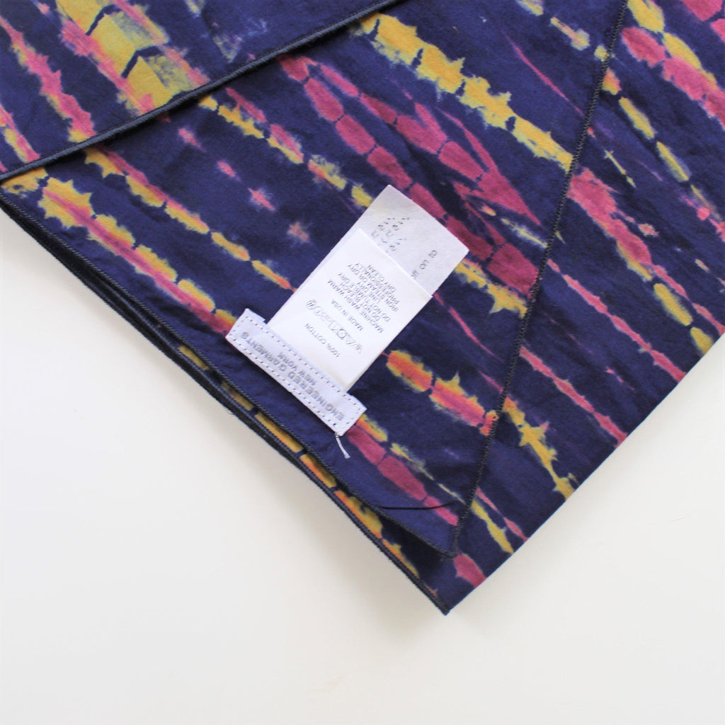 ENGINEERED GARMENTS Long Scarf - Lawn Batik Stripe