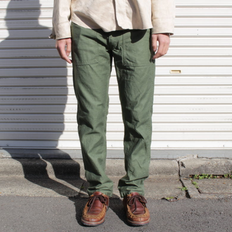 orSlow US SLIM FIT FATIGUE PANTS - BOROPBY