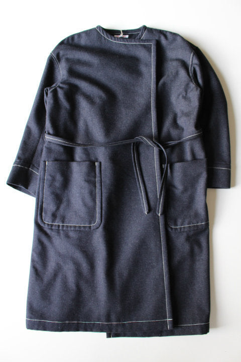 HAVERSACK Wrapped Coat - BOROPBY
