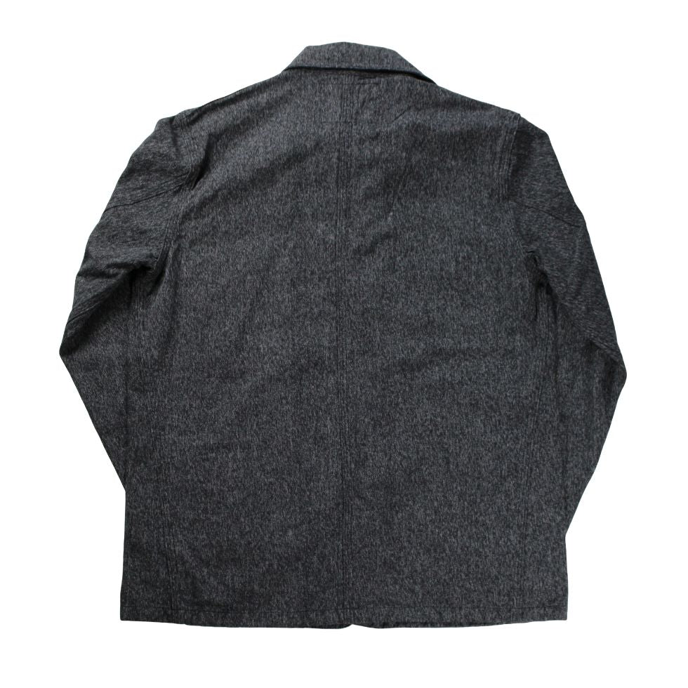 SUGAR CANE Black Covert Work Coat - BOROPBY