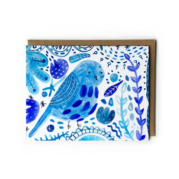 Bluebird Card by Honeyberry