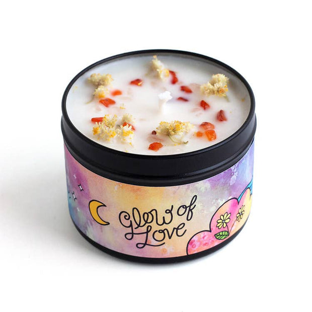 Glow of Love Magic Aromatherapy Candle - Floral & Spice
