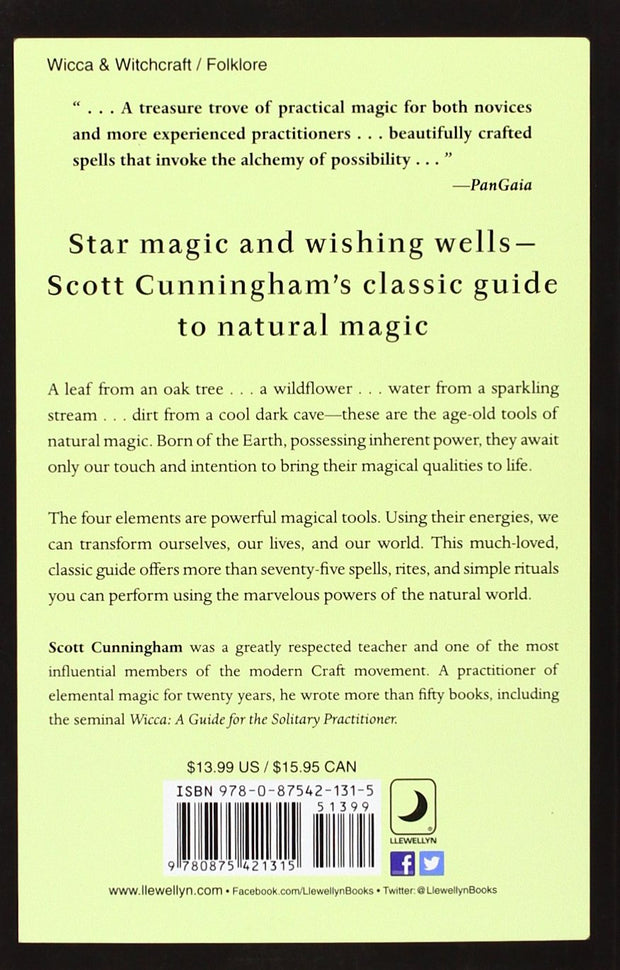 Earth, Air, Fire & Water: More Techniques of Natural Magic (Llewellyn's Practical Magick) by Scott Cunningham