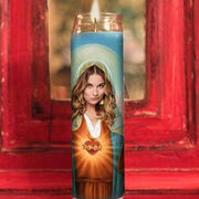 Alexis Rose Schitts Creek Prayer Candle