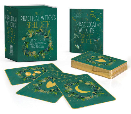 The Practical Witch's Spell Deck: 100 Spells for Love, Happiness, and Success by Cerridwen Greenleaf