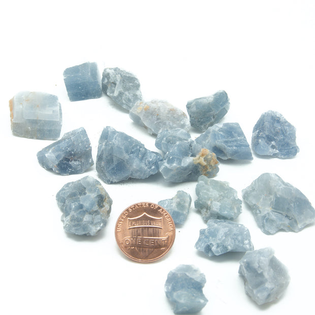 Rough Blue Calcite