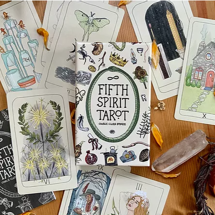 Fifth Spirit Tarot - First Edition by Charlie Claire Burgess