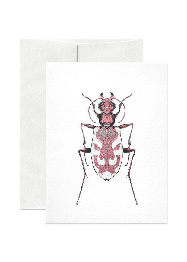 Blowout Beetle Card by Open Sea