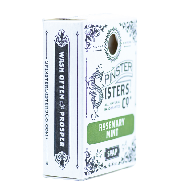 Spinster Sisters Co Rosemary Mint Soap